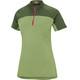 Ziener Carice Koszulka kolarska, krótki rękaw Kobiety zielony